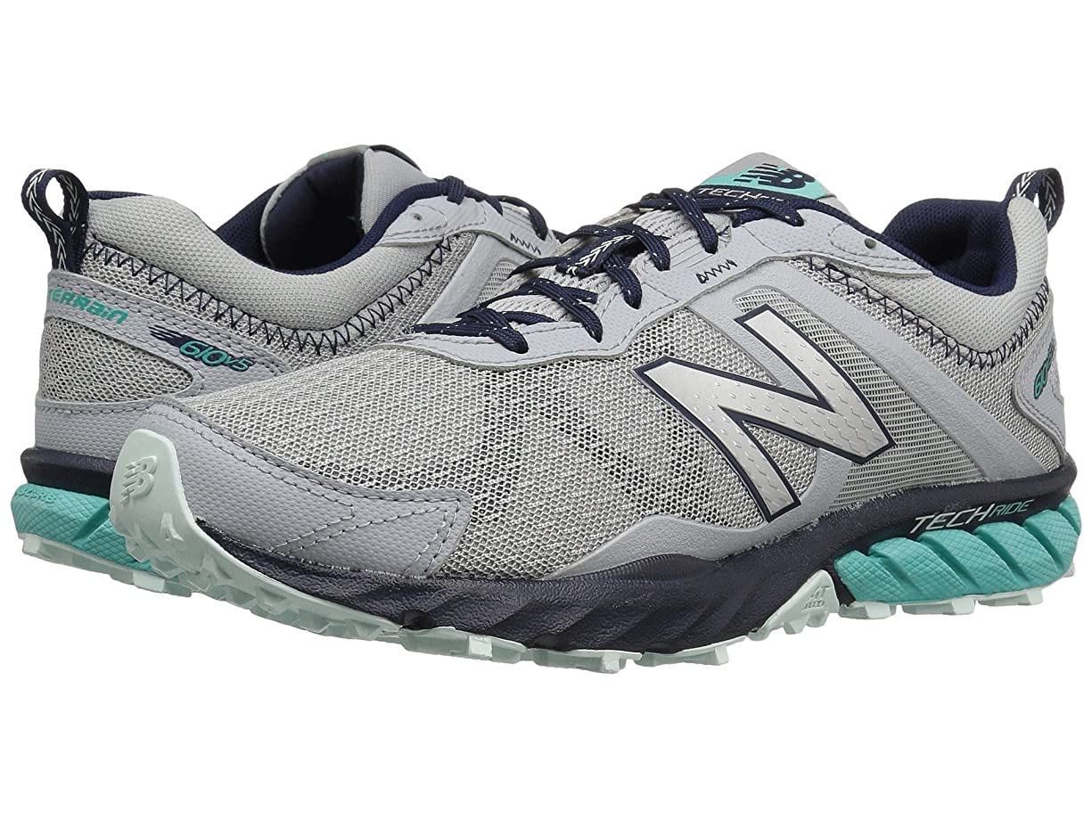 修理可能ソフィー散文(ニューバランス) New Balance レディースランニングシューズ?スニーカー?靴 T610v5 Silver Mink/Aquarius/Pigment/Droplet 5 (22cm) D - Wide