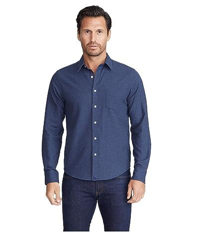 UNTUCKit Flannel Sherwood Shirt (Navy) Men