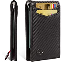 Zitahli RFID-Blocking Slim Front Pocket Wallet