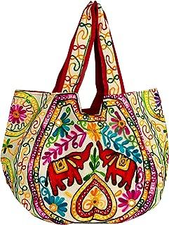 Elephant Women Large Shoulder Bag Tote Purse Handbag Everyday Fashion Casual Market Laptop Books Boho