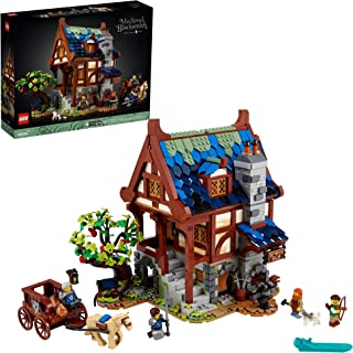 LEGO Ideas Medieval Blacksmith 21325 Building Kit; Impressive Build-and-Display Model for Adults, New 2021 (2,164 Pieces)