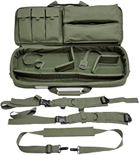 Explorer Mojo Tactical Modulated Concealed Gun Case with Backpack and YKK Zipper, Closed Cell Form