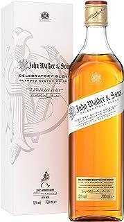 Johnnie Walker & Sons Celebratory Blend zum 200-jährigen Jubiläum, Blended Scotch Whisky, 70 cl im Geschenkkarton - Amazon Exclusive