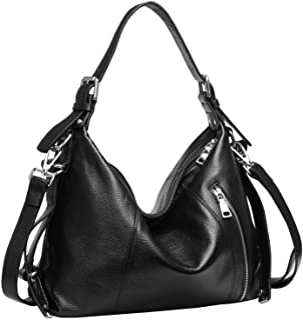 Heshe Leather Handbags for Womens and Ladies Vintage Tote Top Handle Bags Shoulder Handbag Satchel Designer Purses Cross B...