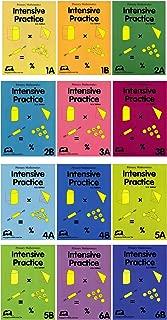Primary Math Intensive Practice 12 Books Set: 1A, 1B, 2A, 2B, 3A, 3B, 4A, 4B, 5A, 5B, 6A, 6B