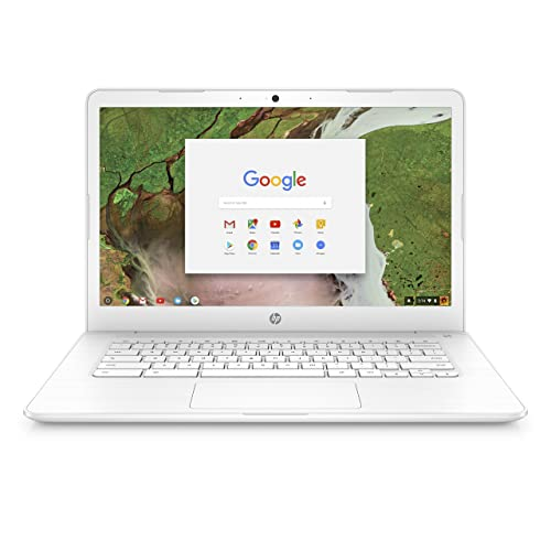 HP Chromebook 14-inch Laptop with 180-degree Hinge, Intel Celeron N3350 Processor