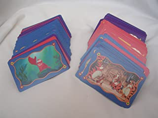 The Wonderful World of Disney Trivia 2 Sequel Game Cards Only ; Trivial Pursuit Subsidiary Card Set