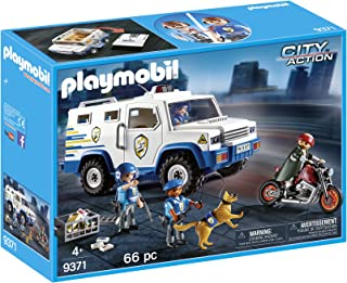 PLAYMOBIL- Vehículo Blindado, única (9371