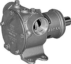 Jabsco 6400-1051 Marine Pulley Driven Flexible Impeller Pedestal Mount Pump (62-GPM, Neoprene Impeller, Full Cam, Mechanical Seal, 1.25