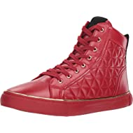 GUESS Men's Melo Quilted High-Top Sneakers