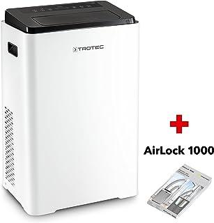TROTEC Acondicionador de Aire Local Pac 3900 X/ (Función Temporizador, Control Remoto IR, Ventilador de 3 Niveles, Función de enfriamiento, ventilación y deshumidificación, Filtro de Aire extraíble)