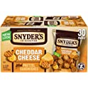 30-Count Snyder's of Hanover Cheddar Cheese Pretzel Sandwiches