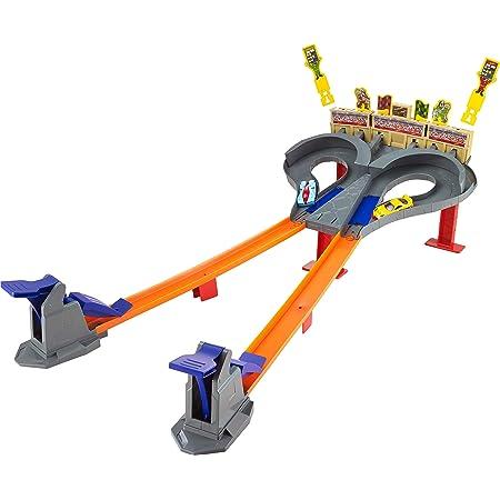 Hot Wheels - Pista dúo de carreras, pistas de coches de juguete (Mattel CDL49)