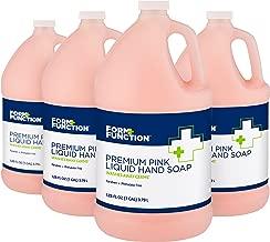 Form + Function Premium Pink Liquid Hand Soap, 1 gal, 4-Pack