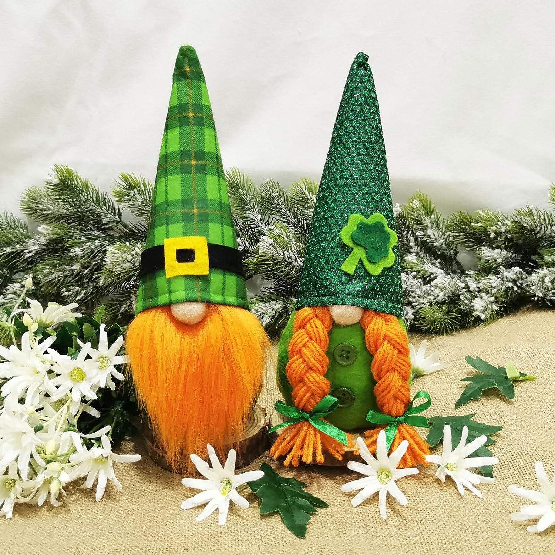 St Patrick's Day Irish Gnomes Dolls Same day shipping Handmade Patrick Austin Mall for