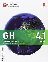 GH 4.1  y GH 4.2 (Geografía e Historia), primera edición (2016): 000001 (GH 4.1 (HISTORIA S.XIX GENERAL) ESO AULA 3D)