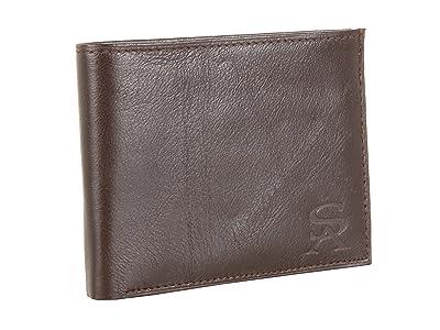 Stacy Adams Bi-Fold Wallet (Brown) Bi-fold Wallet