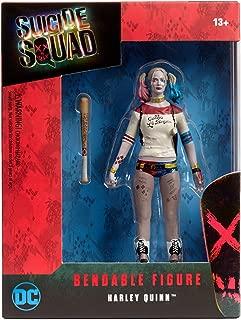 NJ Croce Suicide Squad Harley Quinn Bendable Action Figure, Multicolor, 8