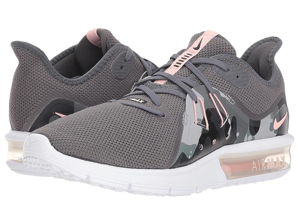 Nike Air Max Sequent 3 Premium (Dark Grey/Storm Pink/Black/White) Women