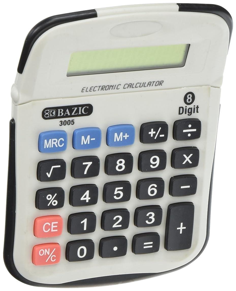 チャールズキージングひねくれた科学的BAZIC 8桁電卓W /調節可能な表示