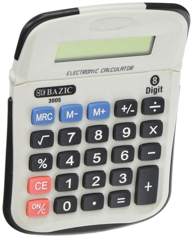 飲料歯エゴマニアBAZIC 8桁電卓W /調節可能な表示