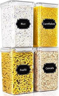 PRAKI Food Storage Contianer 6.5L 4 Set (Grey)