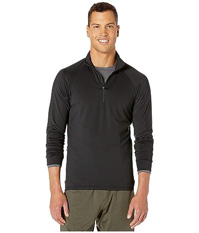 RYU Midlayer 1/4 Zip Pullover (Black) Men