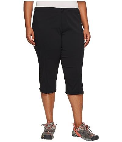 Columbia Plus Size Just Righttm II Capri (Black) Women