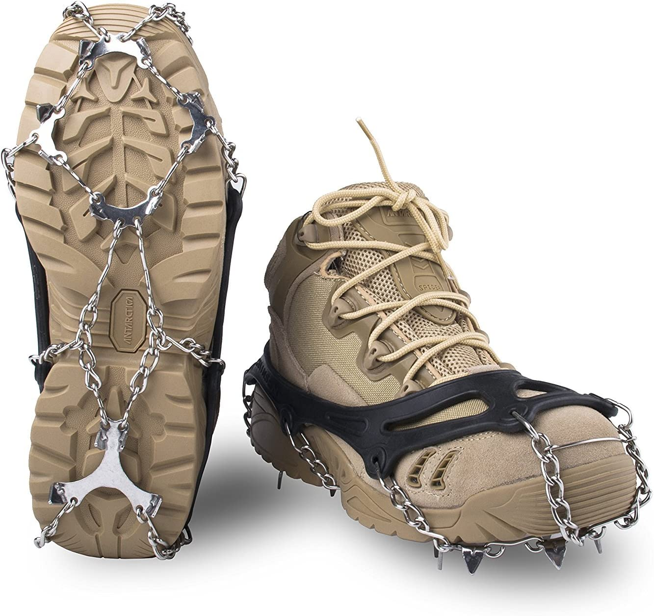 Springk traction cleats for snow and ice