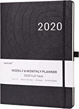 2020 Planner – Weekly, Monthly and Year Planner with Pen Loop, to Achieve Your Goals & Improve Productivity, Thick Paper, Inner Pocket, 8.5