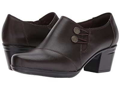 Clarks Emslie Warren (Dark Brown) Women