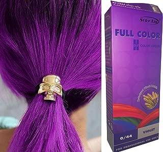 Premium Permanent Hair Colour Cream Dye Goth Cosplay Emo Punk 0/44 VIOLET by Starlist