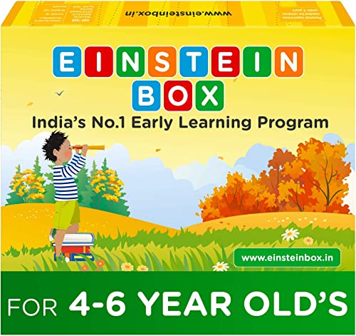 Einstein Box for 4, 5 and 6 Year Old Kids Toys for Baby Boys and Girls, Learning and Educational Gift Pack of Toys, G...