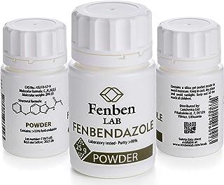 Fenbendazole 100g Polvo, Pureza >99.9%, de Fenben Lab, Incluye Certificado de Análisis, Probado en un Laboratorio Certific...