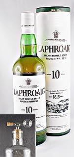 Laphroaig 10 Jahre Islay Single Malt Whisky  1 Glaskugelportionierer