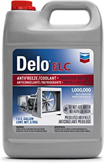 Delo 227811486 Extended Life Prediluted 50/50 Antifreeze/Coolant-1 Gallon, (Pack of 6), 1. gallons, 6 Pack