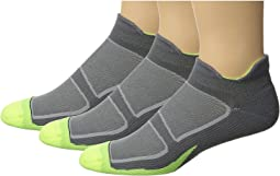 Feetures Elite Light Cushion No Show Tab 3-Pair Pack