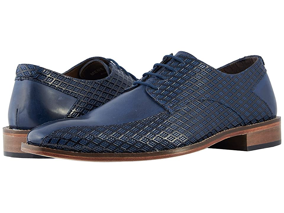 Stacy Adams Gianluca Bike Toe Oxford (Dark Blue) Men