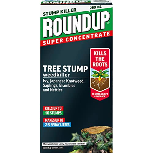 Scotts Miracle-Gro Roundup Tree Stump and Root Killer 250 ml Liquid Concentrate Weedkiller