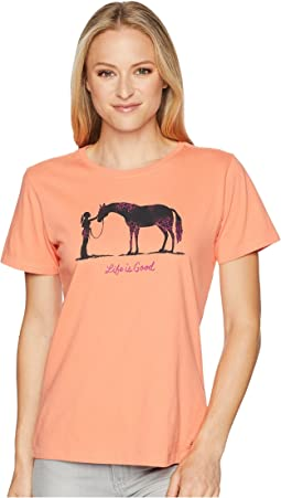 Besties Horse Crusher Tee