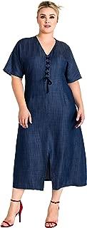 Best blue jean dresses plus size Reviews