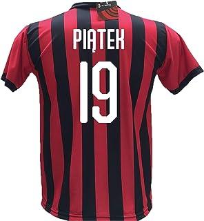 22bd5853b8eac3 DND di D'Andolfo Ciro Maglia Calcio Piatek 19 Milan Replica Autorizzata  2018-2019