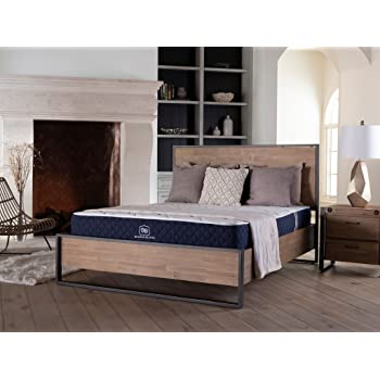 """Brooklyn Signature 11"""" Hybrid Mattress with Patented TitanFlex Pressure Relieving Foam, Cal King Soft"""