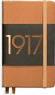 LEUCHTTURM1917 (355679) kieszeń na notebooki w wersji metalicznej (A6), twarda okładka, 187 liczba stron, kropkowana, miedź