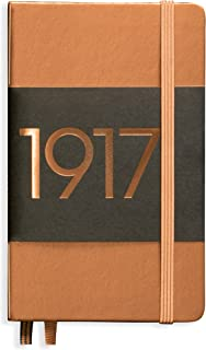Leuchtturm1917 Pocket A5 Dotted Hardcover Notebook (Copper) - 249 Numbered Pages