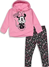 Disney Minnie Mouse Fleece Hooded Legging Set
