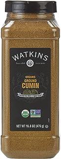 Watkins Gourmet Spice, Organic Ground Cumin, 16.8 oz. Bottle, 1 Count (21807)