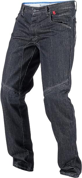 Dainese D1 Pred Evo Jeans Schwarz Aramid Denim Größe 36 Auto