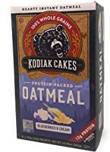 Kodiak Cakes Protein Packed Unleashed Oatmeal Blueberries & Cream - 6 packets