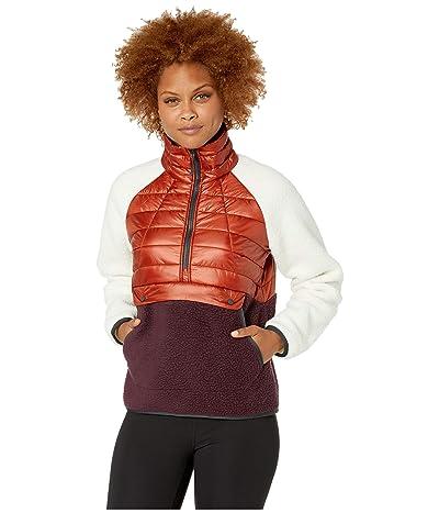 Mountain Hardwear Altiustm Hybrid Pullover (Rusted) Women
